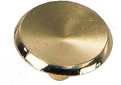 10 Pack Brushed Brass Basics AB900-BB-10 Round Braided Cabinet Knob 1.25-inch Diameter