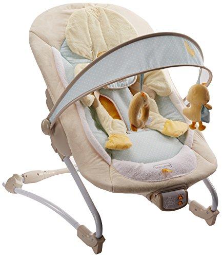 Bright Starts, Hamaca para bebé con vibración, música y diseño de pato