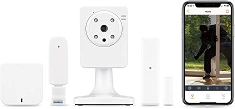 Home8 ActionView Window & Door Security Alarm System (1-cam) with Live Video & Smartphone Control