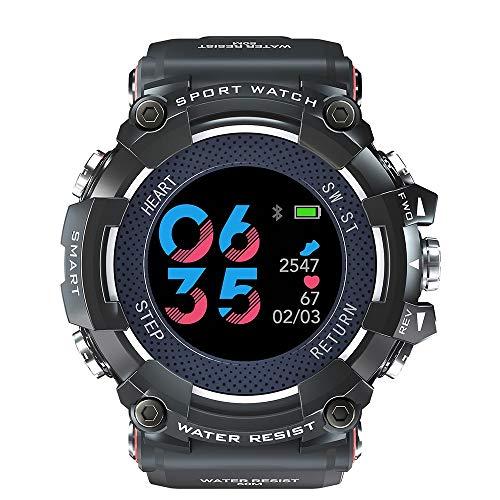 YHLZ Reloj de los deportes, Recordatorio banda de silicona a prueba de agua Deportes Relojes eléctrica Gimnasio rastreadores Con Call Social podómetro calorías remoto Fotografía Reloj de pulsera for h