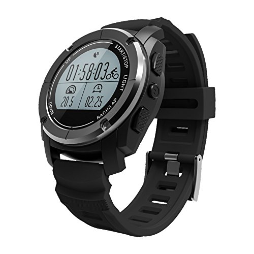 WiFi Smart Watch Smartwatch telefono cellulare Y3Quad Core Bluetooth 3G GPS fitness Smartwatch per Android 5.1, Black S928