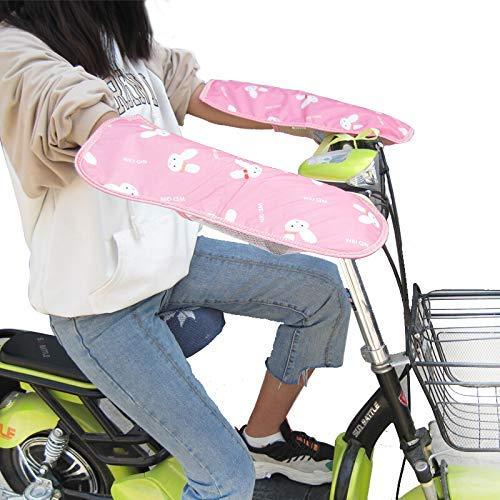 SHKUU Cubierta sombrilla Motocicleta eléctrica Universal, Cubierta Manillar protección Solar para Scooter, Manguitos/Guantes Manillar Motocicleta para Mujeres Hombres Accesorios Motocicleta