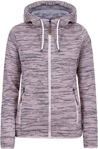 Icepeak Arley Veste Couche intermédiaire Femme, Baby Pink Modèle XL 2019 Veste Polaire