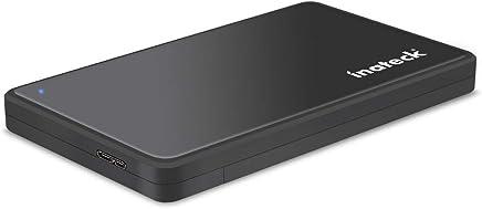 Inateck FE2004 USB 3.0 HDD/SSD Boîtier externe pour disque dur externe 2,5 SATA SSD et disque dur de 9,5mm et 7mm