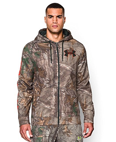 Under Armour ColdGear Infrared Scent Control Caliber Hoodie Jacket AP-Xtra 2XL