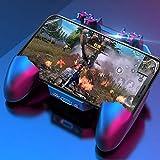 Manette de jeu super mobile pour PUBG, manette de jeu 3 en 1, manette de jeu simplifiée, 4 doigts,...
