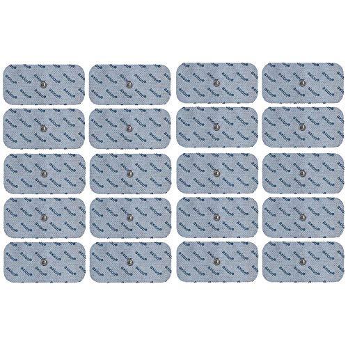20 Elektroden-Pads - passt zu EMS- & TENS-Geräten von Sanitas & Beurer