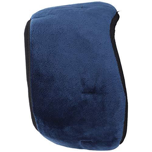 Qqmora Máscara para Dormir con música Máscara para Ojos con Bluetooth, Máscara para Dormir inalámbrica, Esponja compuesta con línea USB Oficina para Relajarse Viaje de Ocio Familiar(Blue)