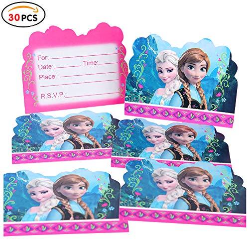 La Regina Dei Ghiacci per Party e Compleanno compleanno party f/ête Set Disney Principessa Anna Ragazza Festa a tema Tovaglia Frozen