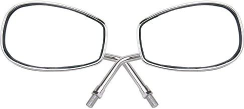 MotorToGo Chrome Rear View Mirrors for 2000 Yamaha Road Star MM XV1600AL