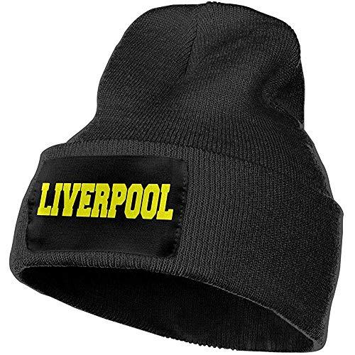 Hombres Mujeres Liverpool Gorros de Punto cálidos al Aire Libre Sombrero Gorros de Punto Suaves de Invierno