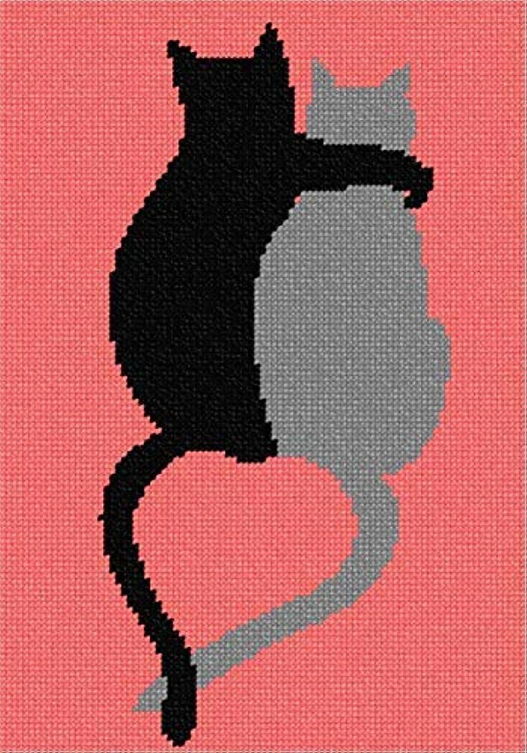 pepita Cat Pals Needlepoint Kit