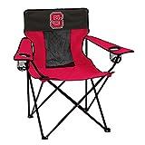 Logo Brands Collegiate North Carolina State Wolfpack Elite Chair, Red, Adult