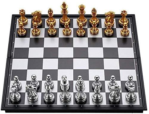 Watch-HLH Ajedrez para Tablero Harry Potter Viaje Classic Chess Set Magnic Pleging Board International Checkers Chess Portable Travel Adult o Children Desktop Puzzle Juego LPRE (Size : 25 * 25CM)