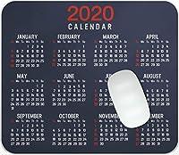 2020年のカレンダーマウスパッドオフィスマウスパッドゲームマウスパッドマットマウスパッド