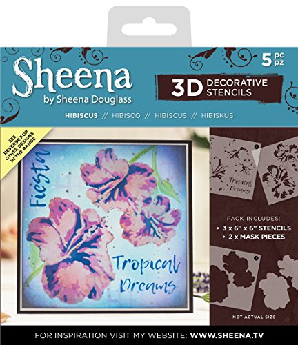 Sheena Douglass 3D-Pr/ägung Ordner 5/x 7-Wisteria Wand 15/x 0,6/x 25,1/cm