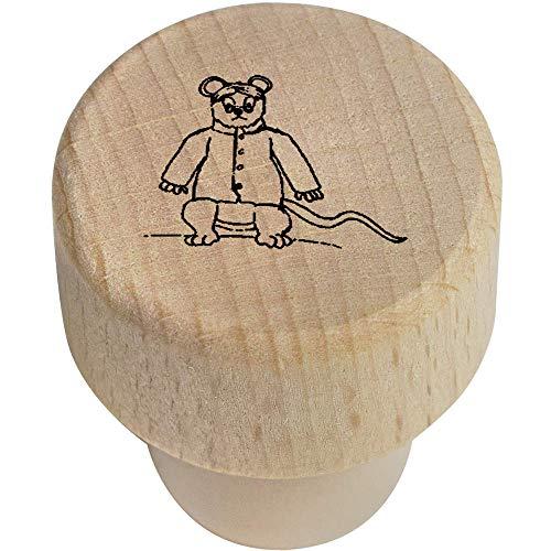 Azeeda 19mm 'Böse Ratte' Flaschenverschluss (BS00004282)