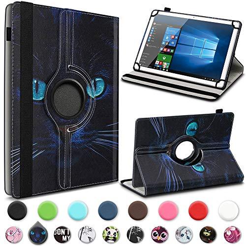 UC-Express Tablet Hülle Smartbook S7Q Tasche Schutzhülle Case Schutz Cover 360° Drehbar Bag, Farbe:Motiv 10