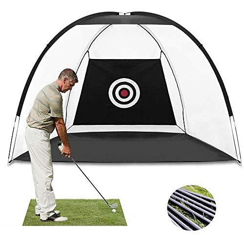 YOMERA Golf-Trainingshilfe, Golf Hitting Netze Golf Chipping Net Trainingshilfen Golf Übungsnetz für Hinterhof, Test Range, Swing und Schläger verbessern