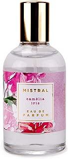 Mistral Exquisite Florals Eau de Parfum - Camelia Iris - Made in France, 1.6 oz