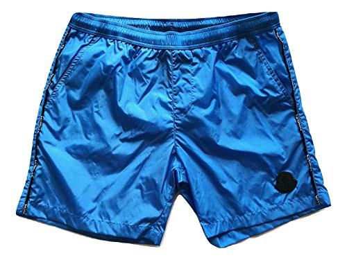 Moncler Badehose Boxer Junior E1 954 0074305 53326 hellblau, Blau 12 Jahre