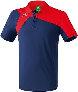 Erima GmbH, Club 1900 2.0 Polo de Tenis, Unisex niños, New Navy/Rojo, 164