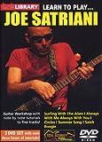 Learn to play Joe Satriani [2 DVDs]