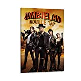 Zombieland Vintage Retro Movie Posters Horror Movie Poster 1 Canvas Art Poster and Wall Art Picture Print Modern Family bedroom aesthetic gift Decor aesthetic vintage online cheap Posters 20x30inch(50
