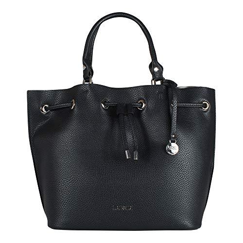 L. CREDI Damen Handtasche Constance 309 3011 Marine (nachtblau)