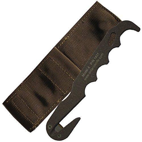 Ontario Knife Company Model 4 CB Strap Cutter w/Sheath
