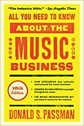 All You Need to Know about the Music Business: 10th Edition: Amazon.co.uk: Passman, Donald S: Books
