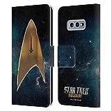Head Case Designs sous Licence Officielle Star Trek Discovery Delta Logo Coque en Cuir à...