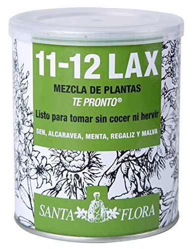 DIMEFAR - Santa Flora 11-12 Lax Bote - Regulador Intestinal - Sen + Alcaravea + Regaliz + Menta + Malva, 70g | Regulador Intestinal