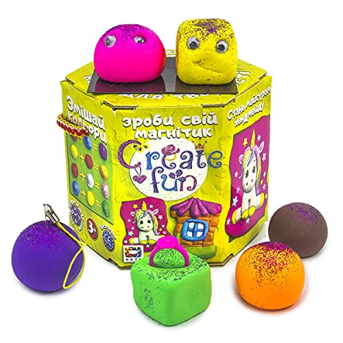 Plastilina modelada 70030 Soft Knete Create Fun Souvenir Niños Juguetes Idea regalo para niñas y niños mayores de 3 años