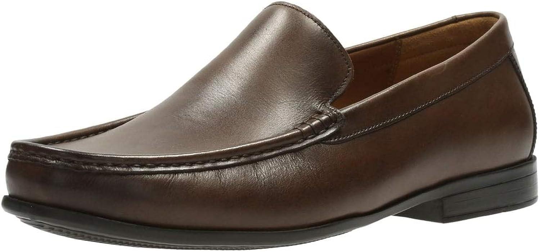 Clarks Claude Plain Mens Wide Formal Slip On shoes