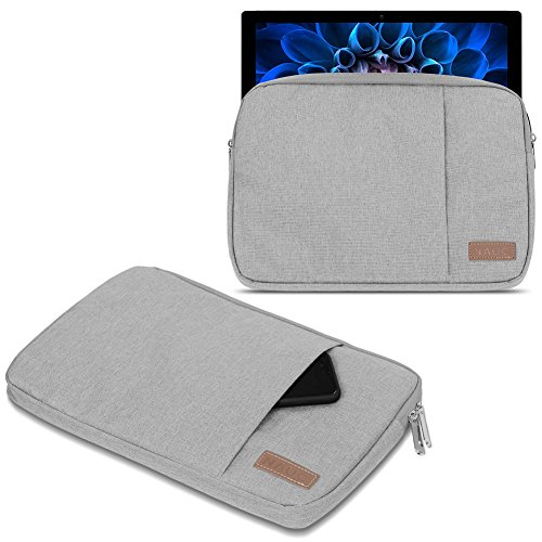 UC-Express Schutzhülle kompatibel für Acer Switch Alpha 12 Hülle Tasche Notebook Schwarz/Grau Cover Hülle, Farbe:Grau