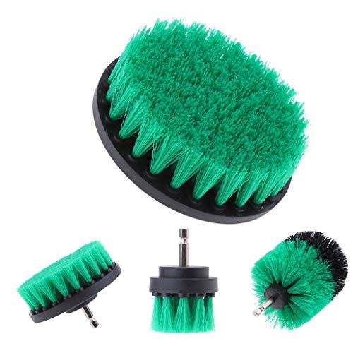 Baoblaze Power Scrubbing Drill Brush Attachment Kit for Bath Grout