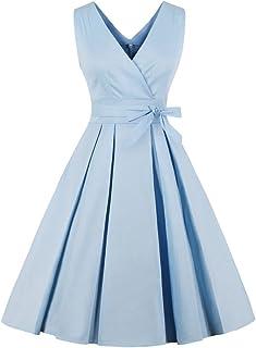 the latest b8462 b4551 Amazon.it: abito azzurro - Blu: Abbigliamento