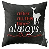 andersonfgytyh Home Style Cotton Linen Throw Pillow Cover Cushion Case Harry Potter Severus Snape Af...