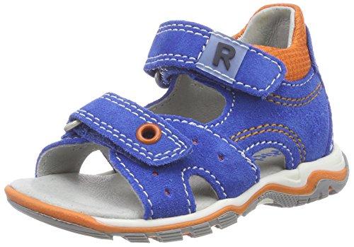 Richter Kinderschuhe Jungen Jumbo Sandalen, Blau (Lagoon/mandarino), 24 EU
