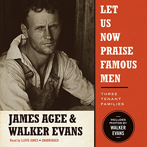 Let Us Now Praise Famous Men audiobook cover art
