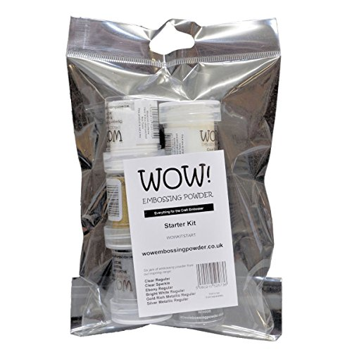 WOW! Embossingpulver Starter Kit 6 Dosen