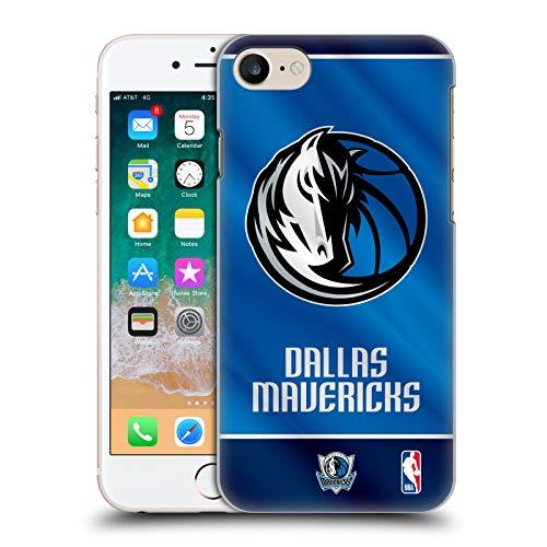 Carcasa rígida Oficial de la NBA Banner 2019/20 Dallas Mavericks para Apple iPhone 7, iPhone 8 y iPhone SE 2020
