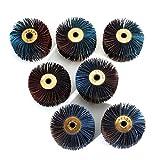 Almohadilla de lijado de 60 mm 120-600# para pulir ruedas y mopa de madera