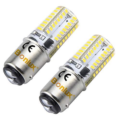 2-Packs 1157 BA15D LED Luz Fría 12V 3W Bombilla Para Coche