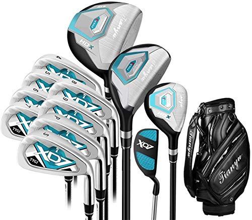 IG Golf Putting Green 12 Piece Golf Club Set Rose Golf...