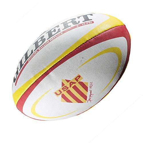 Gilbert Perpignan Rugby Ball - , Einheitsgröße