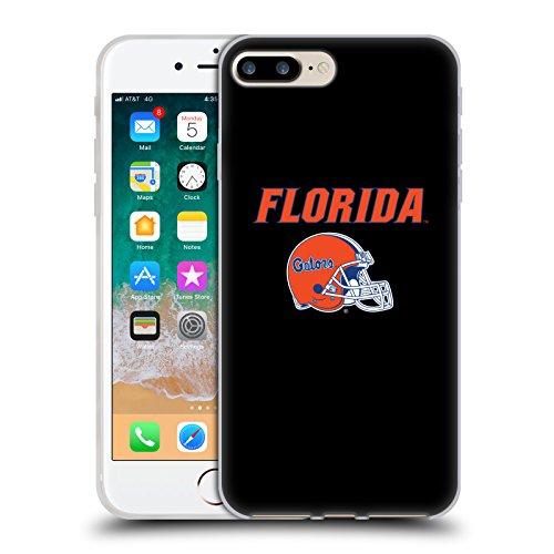 Head Case Designs Licenciado Oficialmente University of Florida UF Logotipo de Casco Carcasa de Gel de Silicona Compatible con Apple iPhone 7 Plus/iPhone 8 Plus