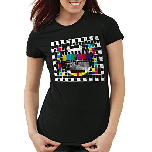 style3 Testbild Damen T-Shirt Sheldon, Farbe:Schwarz;Größe:L