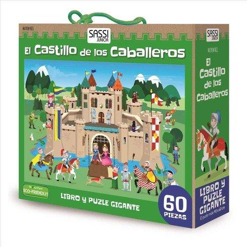 Manolito Books 9789461887450 Libro con Puzzle Castillo caballero27x23, Multicolor ( 9789461887450)